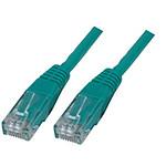 Câble RJ45 catégorie 6 U/UTP 7.5 m (Vert)