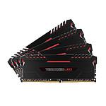 Corsair Vengeance LED Series 32 Go (4x 8 Go) DDR4 3000 MHz CL16 - Rouge