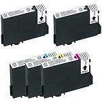 Multipack cartouches compatibles Epson T061 (Noir, Cyan, Magenta et jaune)