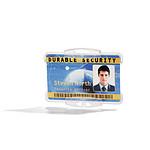 DURABLE Soporte abierto para tarjetas de seguridad x 10