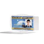 DURABLE Porte-badge ouvert pour 2 cartes de sécurité Transparent x 10