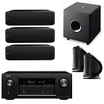 Denon AVR-X2300W Noir + Focal 5.1 SIB XL, SIB et Cub 3