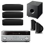 Yamaha MusicCast RX-V781 Titane + Focal 5.1 SIB XL, SIB et Cub 3