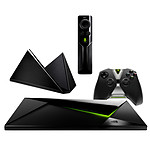NVIDIA SHIELD Pro Android TV 500 Go + TV Remote Control + Stand