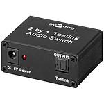 Switch Toslink 2 puertos