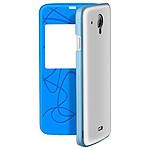 Infinix Flip Case Smart Cover Bleu/Blanc Infinix X505