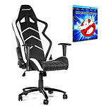 "AKRacing Player Gaming Chair (blanc) + coffret Blu-ray ""SOS Fantômes 1&2"" OFFERT !"