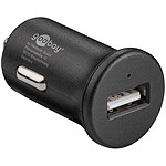 Goobay Chargeur rapide USB 2.4A sur prise allume-cigare (noir)
