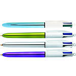 BIC 4 couleurs Shine x 12