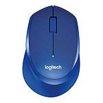 Logitech M330 Silent Plus (Bleu)