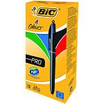 BIC 4 couleurs Pro x 12