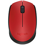 Logitech M171 Wireless Mouse (Rojo)