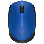 Logitech M171 Wireless Mouse (Bleu)