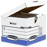 Fellowes System Conteneur flip top cube Bleu x 10