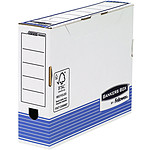 Fellowes Caja de archivo System A4 80mm Azul x 10