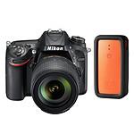 Nikon D7200 + Objectif VR 18-105 mm + XSories Weye Feye Share