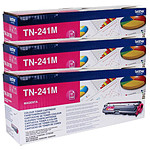Brother TN-241M x 3 (Magenta)