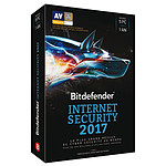Bitdefender Internet Security 2017 - Licence 1 An 5 Postes