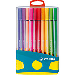 STABILO ColorParade Pen 68 turquoise x 20 Assortis