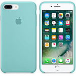 Apple Coque en silicone Bleu Méditerranée Apple iPhone 7 Plus
