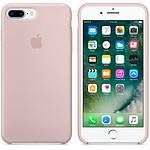 Apple Coque en silicone Rose des sables Apple iPhone 7 Plus
