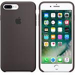 Apple Coque en silicone Cacao Apple iPhone 7 Plus