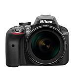 Nikon D3400 + AF-S DX 18-105 VR Noir