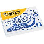 BIC Cartouches standard courtes bleues x 6