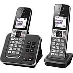 Panasonic KX-TGD322FRG Duo Gris