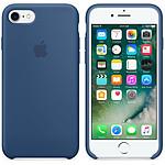 Apple Coque en silicone Bleu Atlantique Apple iPhone 7