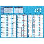 Calendriers Bouchut Grandrémy Calendrier 2017 - 16 mois (40.5 x 55 cm)