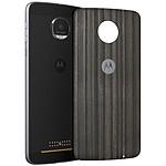 Motorola Mods funda Charbon de Bois Moto Z/Z Play
