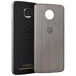 Motorola Mods funda Bois plata Moto Z/Z Play