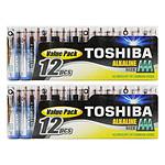 Toshiba Pilas Alcalinas AAA LR03 (por 24)