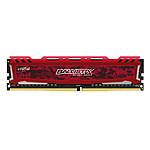 Ballistix Sport 8 Go DDR4 2400 MHz CL16 DR - Rouge