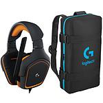 Logitech G231 Prodigy Gaming Headset + eSport Bag OFFERT !