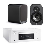 Denon CEOL N9 Blanc + Q Acoustics 3010 Graphite