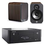 Denon CEOL N9 Noir + Q Acoustics 3020 Bois