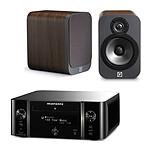 Marantz Melody Stream M-CR611 Noir + Q Acoustics 3020 Bois
