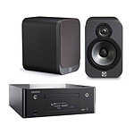 Denon CEOL N9 Noir + Q Acoustics 3020 Graphite
