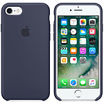 Apple Coque en silicone Bleu Nuit Apple iPhone 7