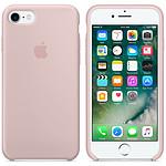 Apple Coque en silicone Rose des sables Apple iPhone 7