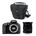 Nikon D5500 + SIGMA 17-50mm F2.8 EX DC OS HSM + Lowepro Rezo TLZ 10