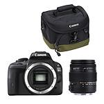 Canon EOS 100D + Sigma 18-250mm F3.5-6.3 DC Macro OS HSM + Canon 100EG