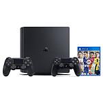Sony PlayStation 4 Slim (500 Go) + DualShock 4 v2 + FIFA 17