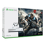Microsoft Xbox One S (1 To) + Gears of War 4