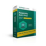 Kaspersky Anti-Virus 2017 - Licence 3 ans 1 poste