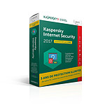 Kaspersky Internet Security 2017 - Licence 1 poste 3 ans