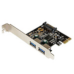 StarTech.com Carte contrôleur PCI-E (2 ports USB 3.0 Type-A)