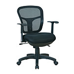 MT international Fauteuil MT1373 Noir